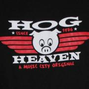 Hog Heaven BBQ in front of Centennial Park in Nashville Tennessee