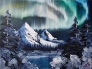 Northern Lights - Bob Ross Workshop - Centennial Art Center