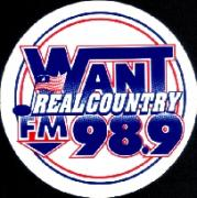 98.9  WANT REAL COUNTRY