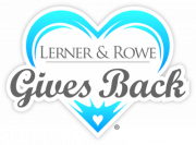 Lerner and Rowe Gives Back logo