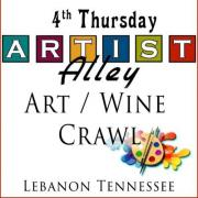Art / Wine Crawl in Lebanon Tennessee