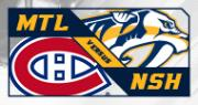 Nashville Predators vs. Montreal Canadiens