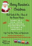 Merry Mansker's Christmas - Meet Santa at the Bowen House