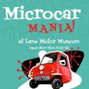 Microcar Mania at Lane Motor Museum Nashville Tennessee