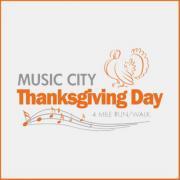 Music City Thanksgiving Day 4 Mile Run/Walk