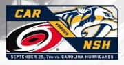 Nashville Predators Preseason Game