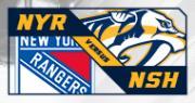 Nashville Predators vs. New York Rangers
