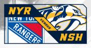 Nashville Predators vs. New York Rangers