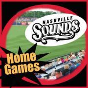Nashville Sounds Home Games in April