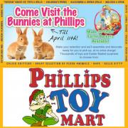 Annual Visit the Bunny's Event at Phillip's Toy Mart in Nashville Tennessee