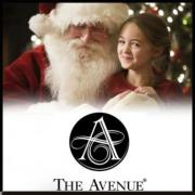 get pictures with santa at the Avenue