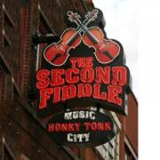 The Second Fiddle bar in downtown Nashville Tennessee