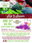 Sip N Savor at Natchez Hills Winery at the Market