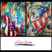 Sips n Strokes Painting Classes in Nashville Tennessee