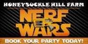 Nerf Wars Birthday Parties for Middle TN at Honeysuckle Hill Farm