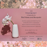 Bud Vases and Bouquets