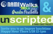 Unscripted Improv Happy Hour with NAMIWalks Greater Nashville