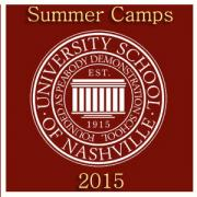 University School of Nashville (USN) Summer Camps