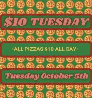 $10 Tuesdays at Nicky's Coal Fired