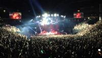 Large croud at Bridgestone Arena in downtown Nashville Tennessee