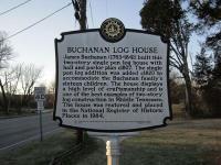 Buchanan Log House and Addison Museum