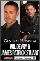 General Hospital's Wil Devry & James Patrick Stewart