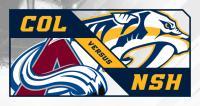 Nashville Predators vs. Colorado Avalanche