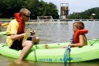 Boating at Camp Widjiwagan