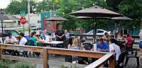 Outdoor Patio Edley's Bar-B-Que