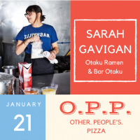 Other People's Pizza at Nicky's Coal Fired: Chef Sarah Gavigan