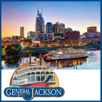 Cruise down the Cumberland River in downtown Nashville Tennessee
