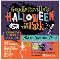 Halloween In the Park Moss-Wright Park Goodlettsville TN