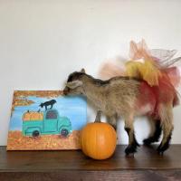Painting Pumpkins with Shenanigoats
