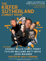 Kiefer Sutherland Comedy Hour