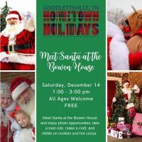 Meet Santa at the Bowen House