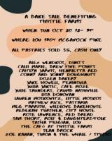 Autumnal Bake Sale to Benefit Thistle Farms