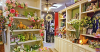 Inside Rebel Hill Florist in Nashville Tennessee