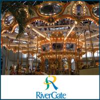 Rivergate Mall Food Court in Nashville Tennessee