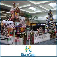 Rivergate Mall at Christmas in Nashville Tennessee