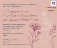 Promise Week: Donation-Based CorePower Yoga Class