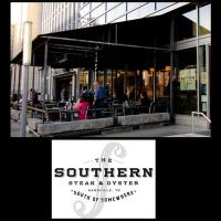 Outdoor Patio at The Southern Steak & Oyster in downtonw Nashville Tennessee
