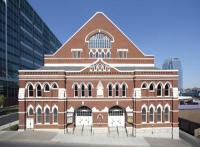 Ryman Auditorium is a National Historic Landmark.