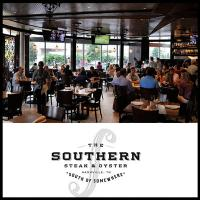 Main Dining Room at The Southern Steak & Oyster in downtonw Nashville Tennessee