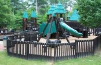 Treehouse Playground Bowie Park & Nature Center Fairview Tennessee