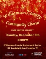 Williamson County Community Chorus Winter Concert
