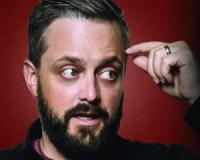 Nate Bargatze at the Ryman Auditorium in downtown Nashville Tennessee