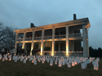 155th Anniversary of the Battle of Franklin - Illumination