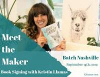 Meet the Maker - Book Signing with Kristin Llamas