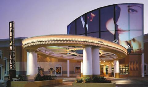 Opry Mills Mall in Nashville near Opryland Hotel