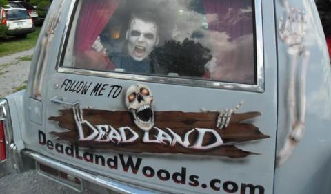 Nashville Haunted House Deadland Haunted Woods